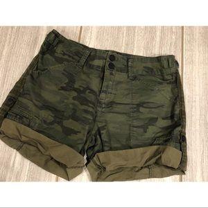 Camo Sanctuary Cargo Shorts